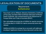 legalization of documents1
