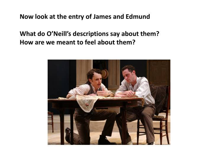 Now look at the entry of James and Edmund