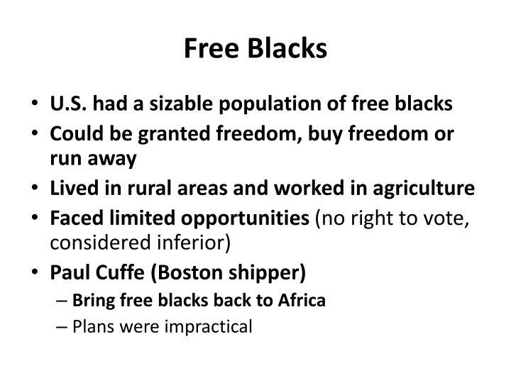 Free blacks