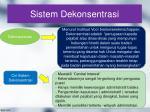 sistem dekonsentrasi