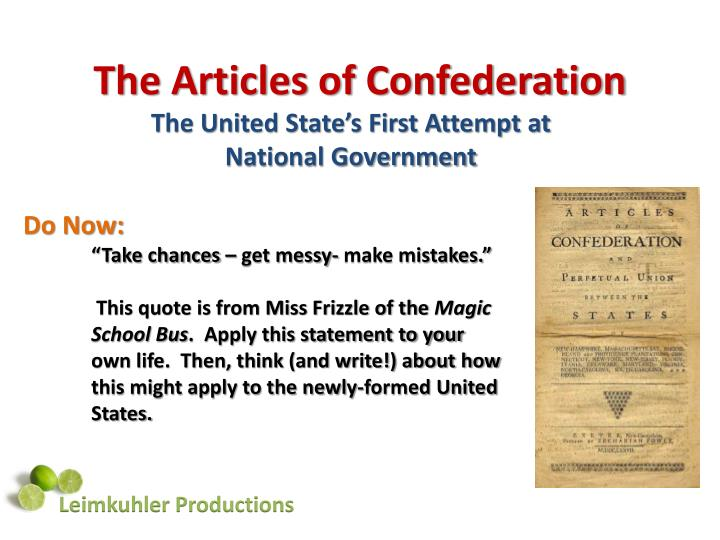 articles of confederation dbq 7 The articles of confederation were an effective form of government both questions and outline, printed, are due on wednesday november 2, 2016 a weak central (federal) government where the states had too much power.