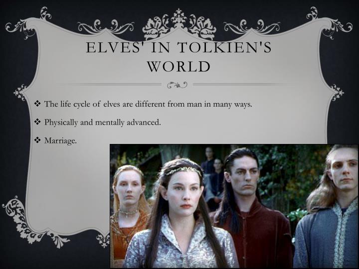 Elves in tolkien s world