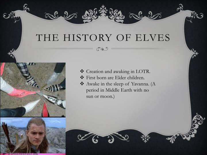 The History of Elves