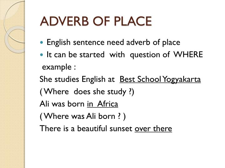 Ppt Adverb Powerpoint Presentation Id2809736
