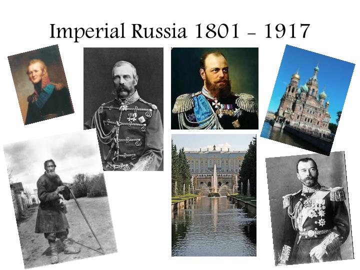 Imperial russia 1801 1917