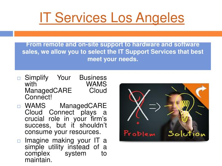 It services los angeles