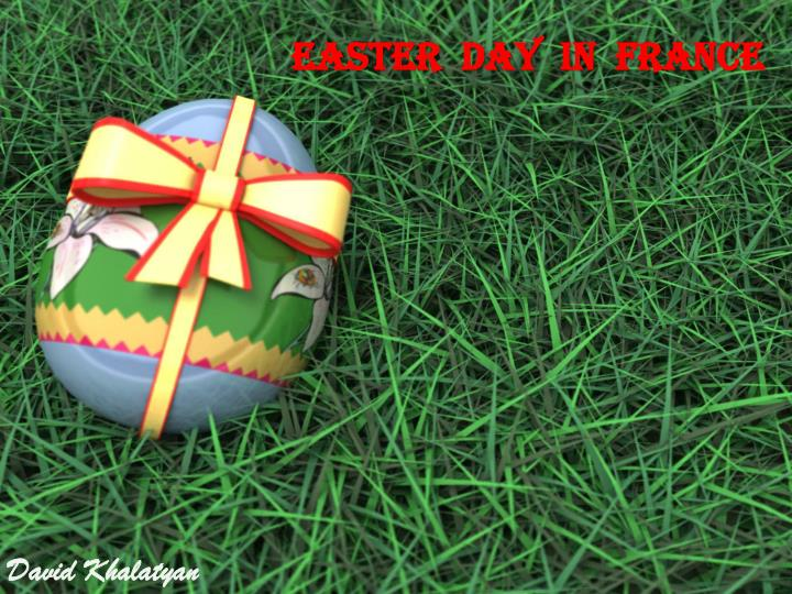 easter day in f rance n.