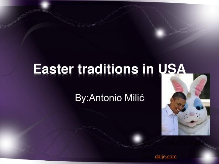 easter traditions in usa n.