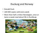 duckurg and norway