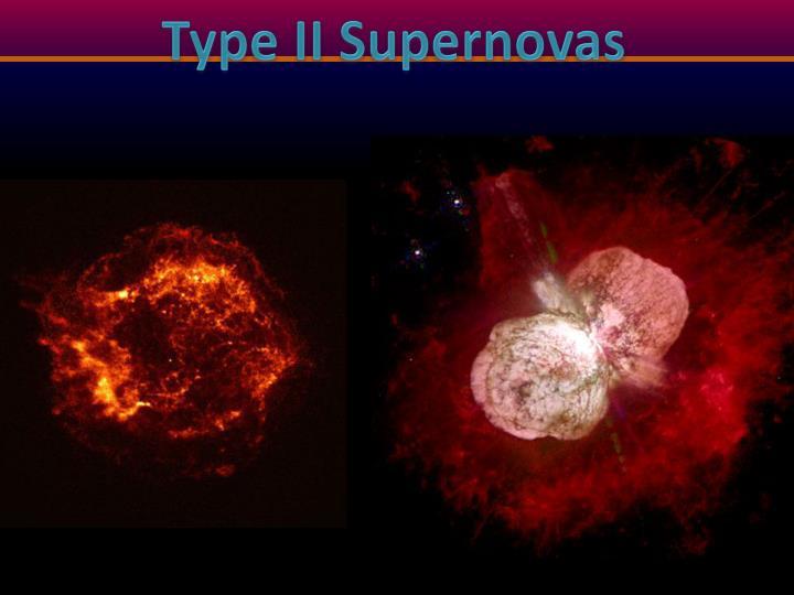 Type II Supernovas