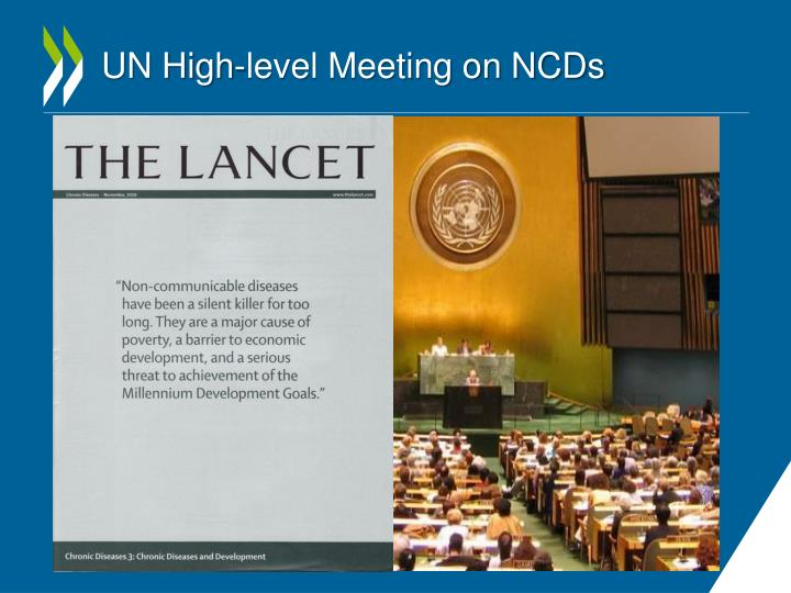 Un high level meeting on ncds