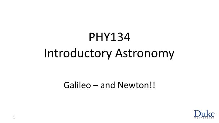 phy134 introductory astronomy n.