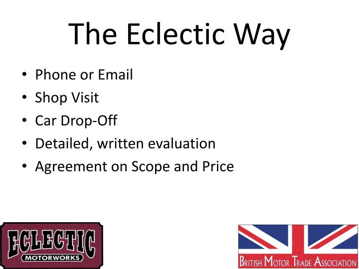 The Eclectic Way