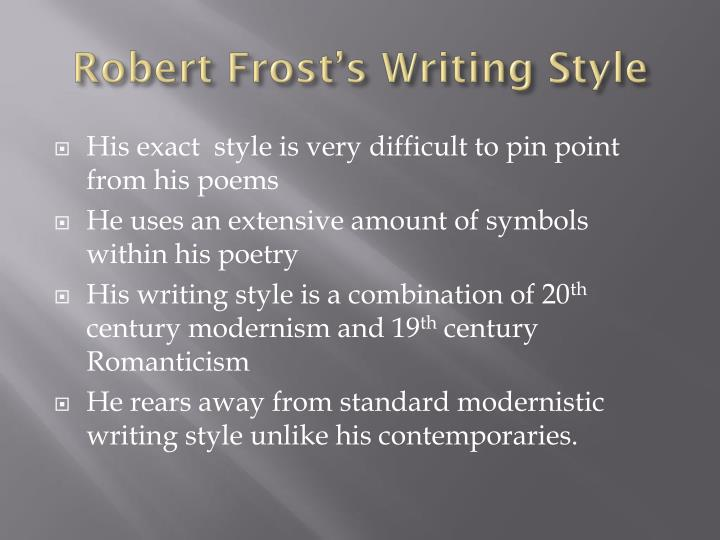 an analysis of robert frosts poem out out Out, out is a poem by american poet robert frost, published in 1916 overview [ edit ] out out tells the story of a young boy who dies after his hand is severed by a  buzz-saw .