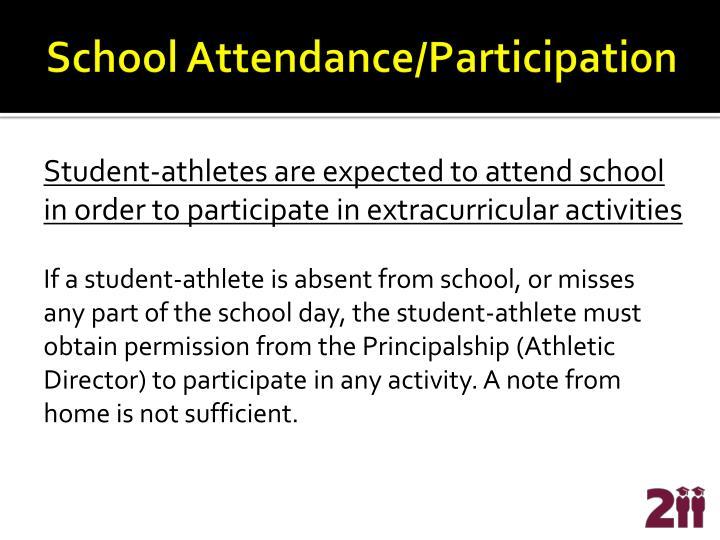 School Attendance/Participation