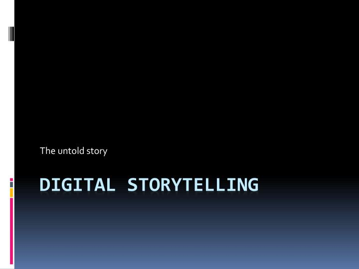 the untold story n.