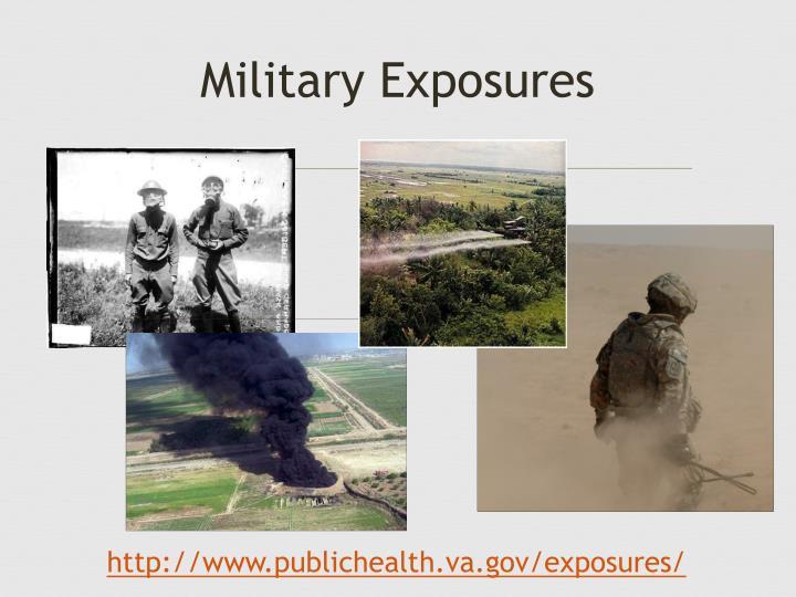 Military Exposures