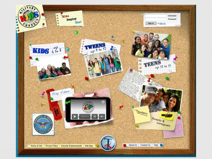 Military Kids Connect