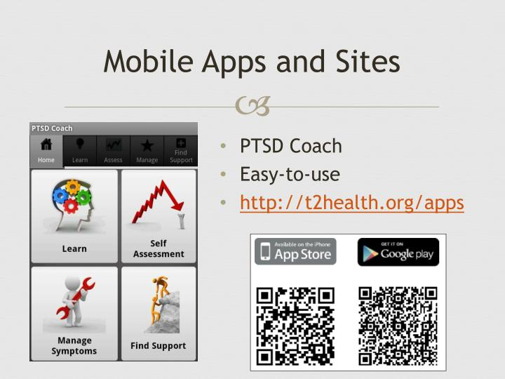 Mobile Apps and Sites
