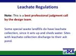 leachate regulations1