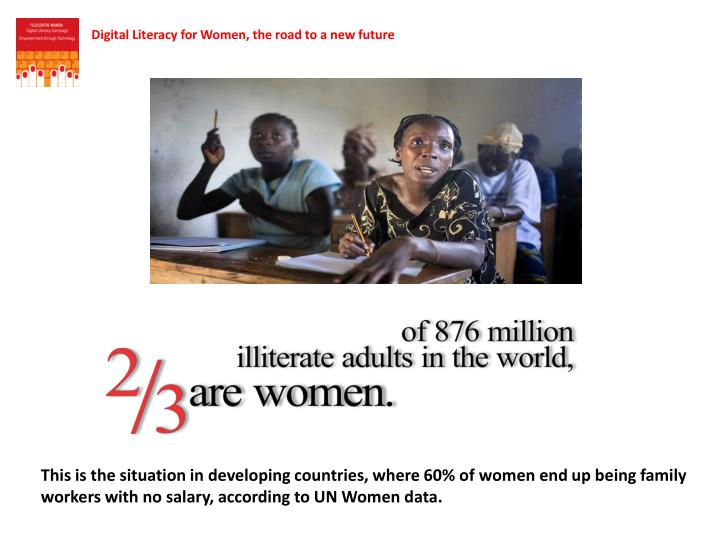 Digital Literacy for Women, the road to a new future