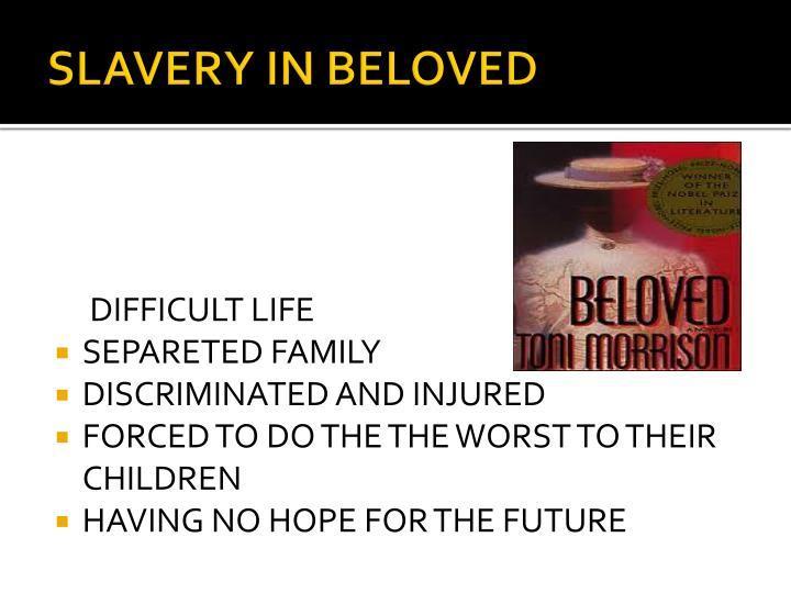 SLAVERY IN BELOVED