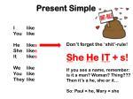 present simple2