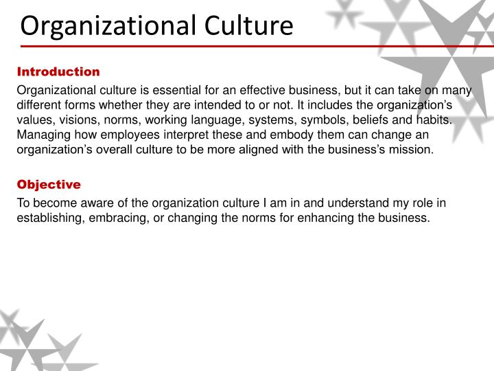 Ppt Organizational Culture Powerpoint Presentation Id2813535