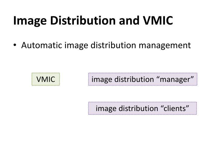 Image Distribution and VMIC
