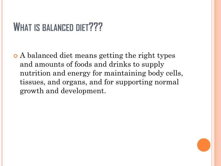 Ppt Balanced Diet And Nutrients Powerpoint Presentation Id 2813863