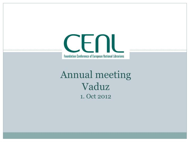 budged 2012 annual meeting vaduz 1 oct 2012