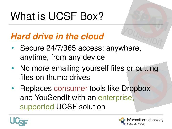 What is ucsf box