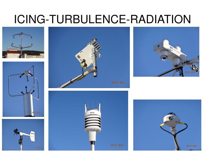 ICING-TURBULENCE-RADIATION