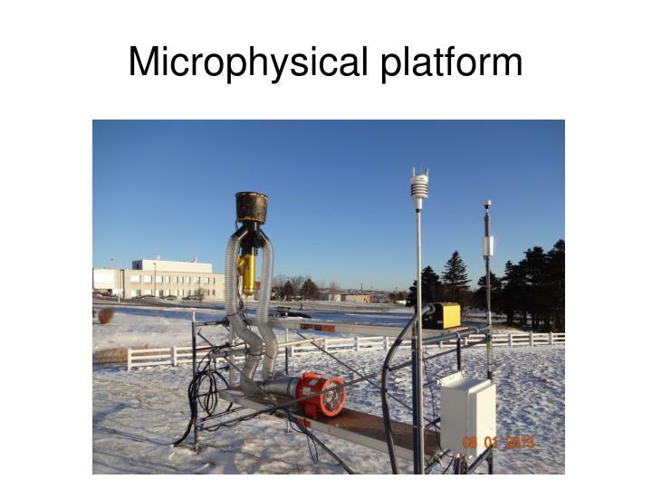 Microphysical platform