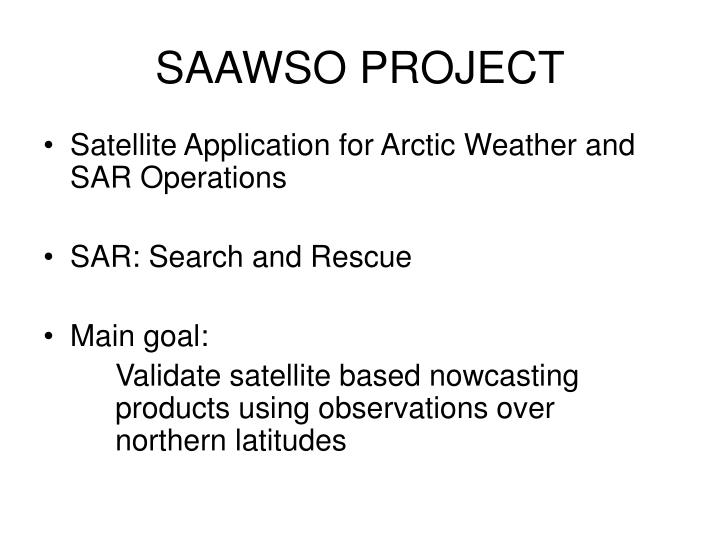 Saawso project
