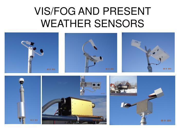 VIS/FOG AND PRESENT WEATHER SENSORS