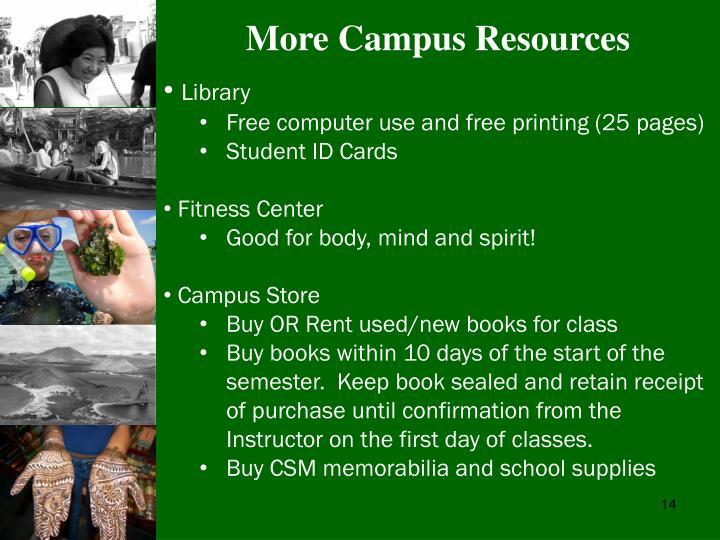 More Campus