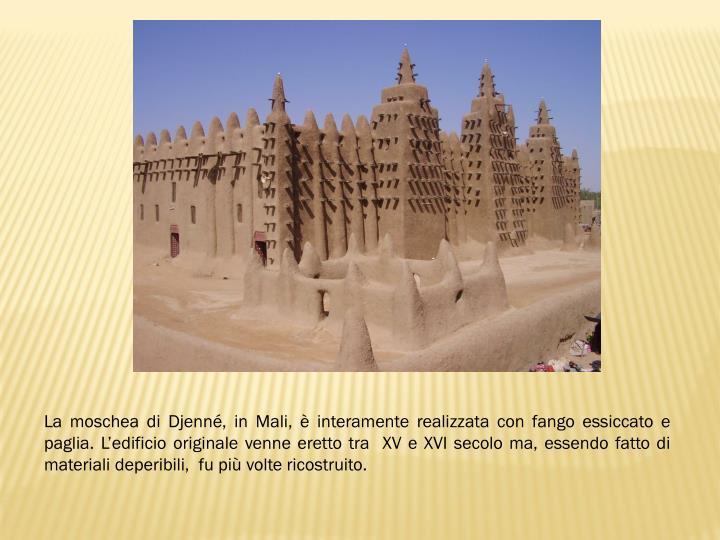 La moschea di
