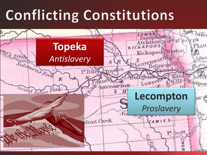Conflicting Constitutions