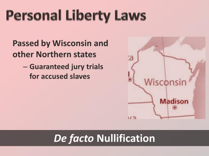 Personal Liberty Laws