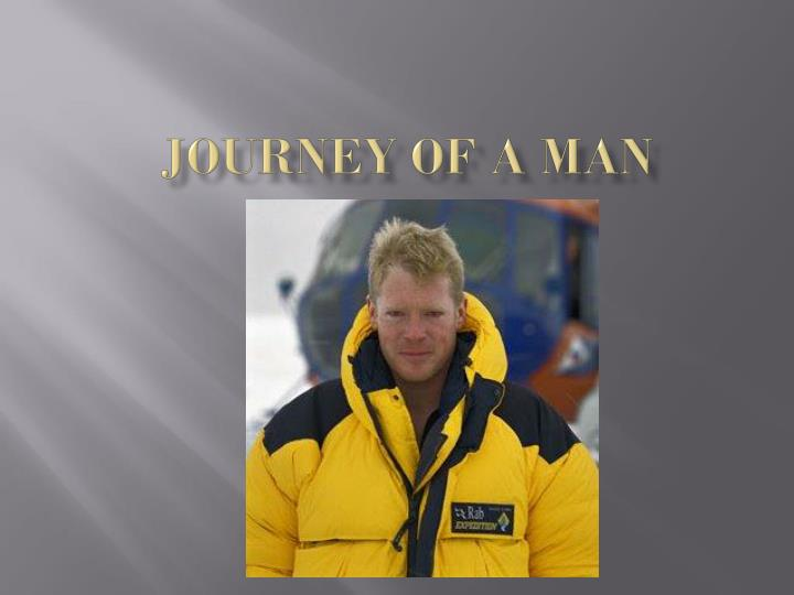journey of a man n.