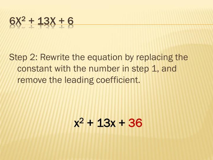 6x 2 13x 6