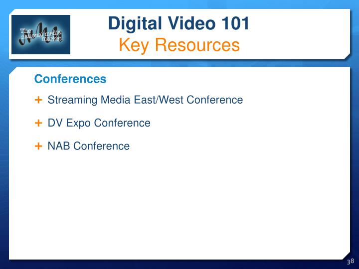 Streaming Media East/West Conference