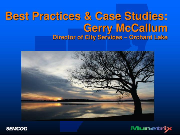 Best Practices & Case Studies: