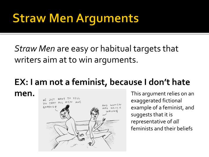 Straw Men Arguments
