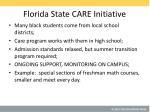 florida state care initiative