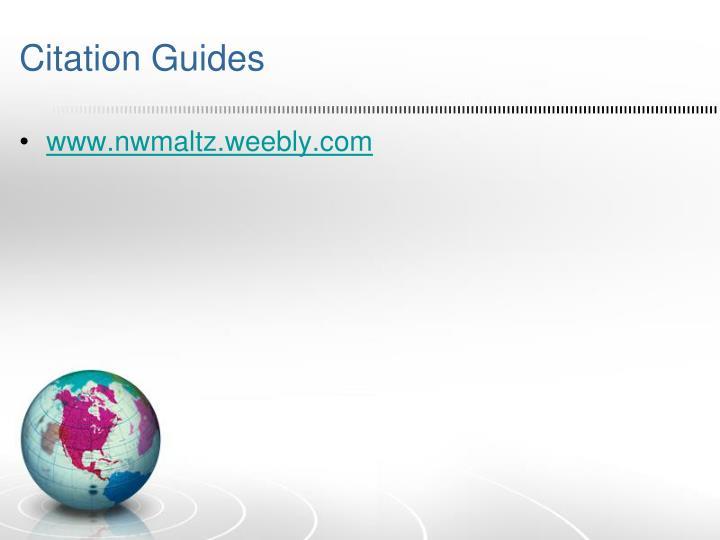 Citation Guides