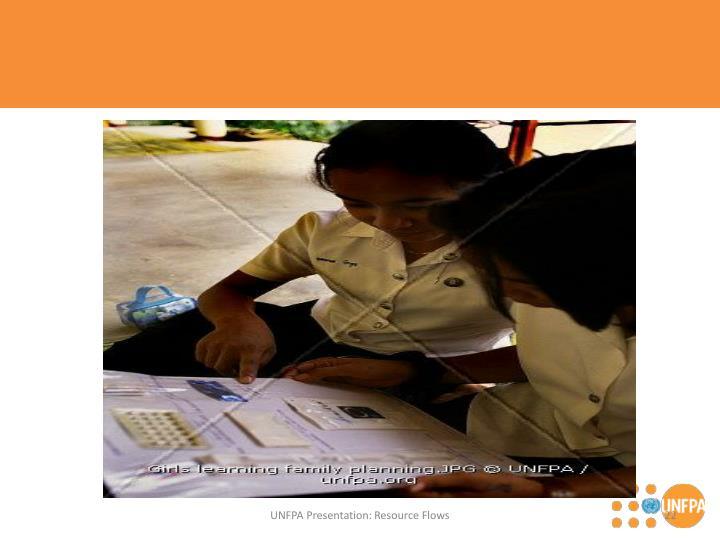 UNFPA Presentation: Resource Flows