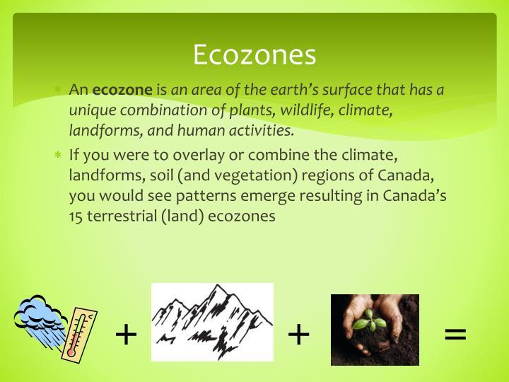 Ecozones