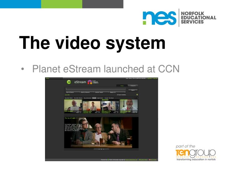 The video system